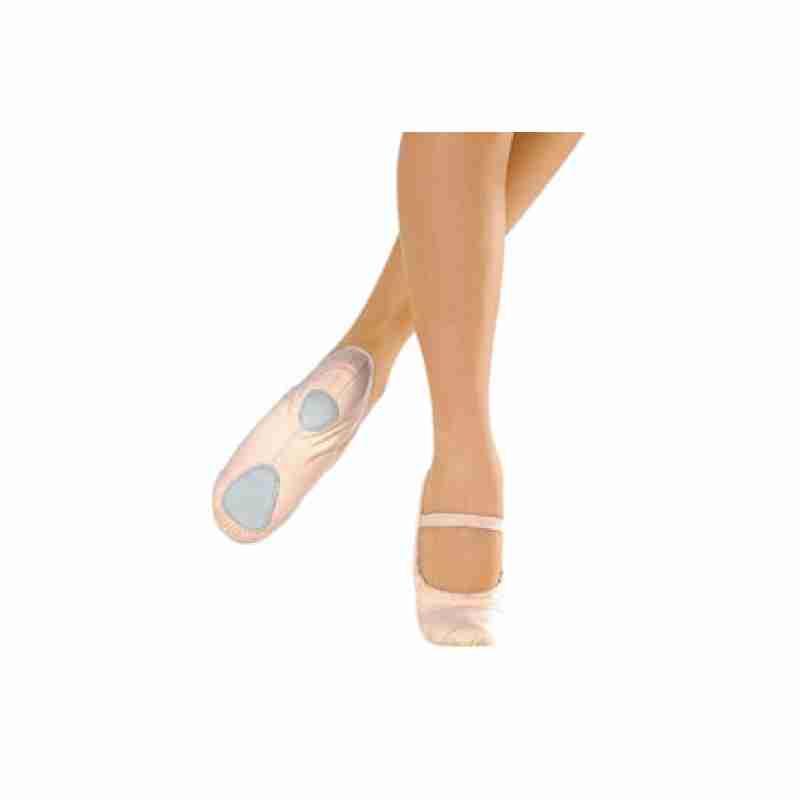 So Danca BAE23 Canvas Balletschoenen met Splitzool en enkelvoudig wreef bandje