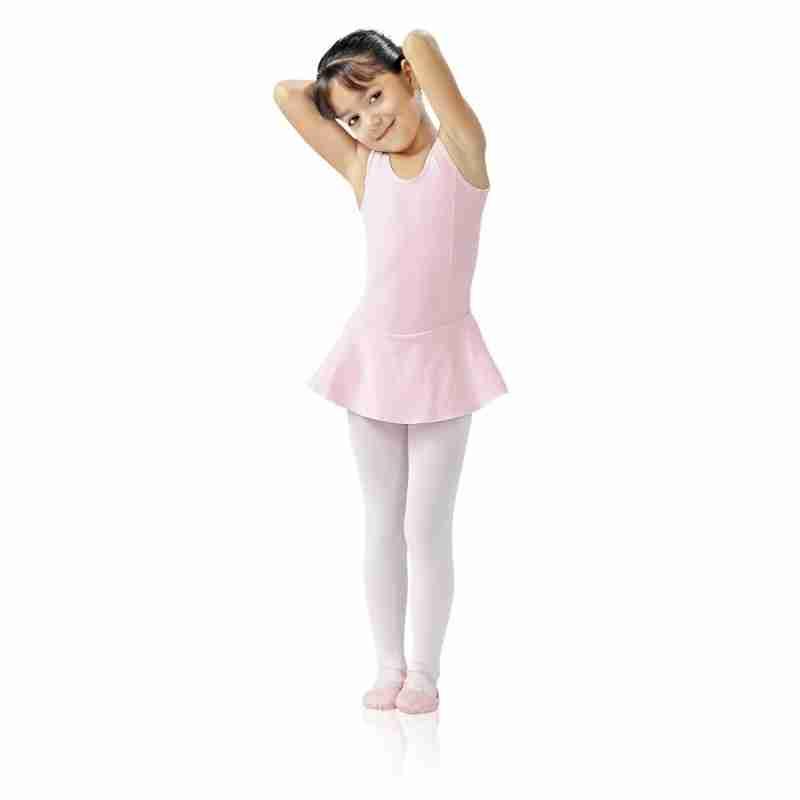 SoDanca E10709 roze balletpakje met rokje