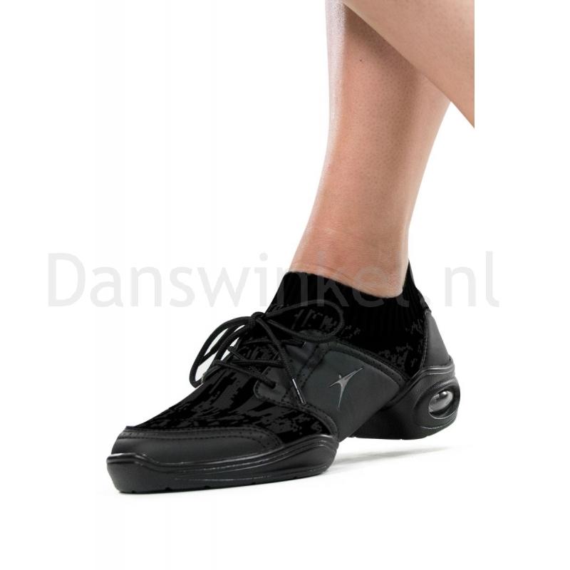 So Danca DK80 Zwarte Vegan Danssneakers Imitatieleer