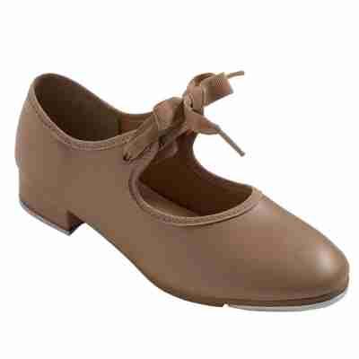 So Danca Dansschoenen TA36 karamel kleurig model voor vrouwen met strikje