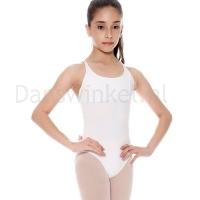 So Danca SL-19 Kinder balletpak wit ronde hals