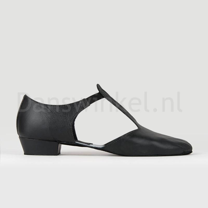 So Danca MDE 03 zwarte Griekse Sandalen voor jazz, salsa en lyrical