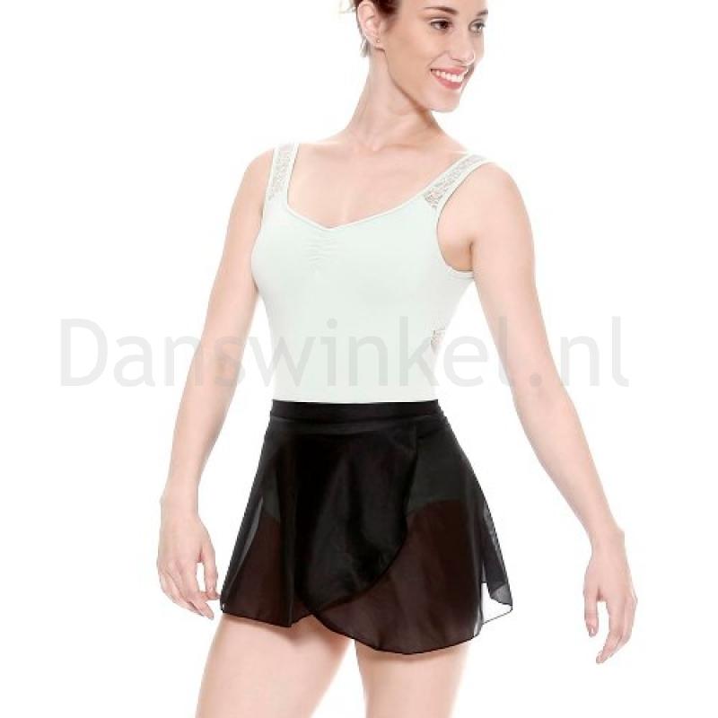 SoDanca zwarte Balletrokje E8017 voor dames