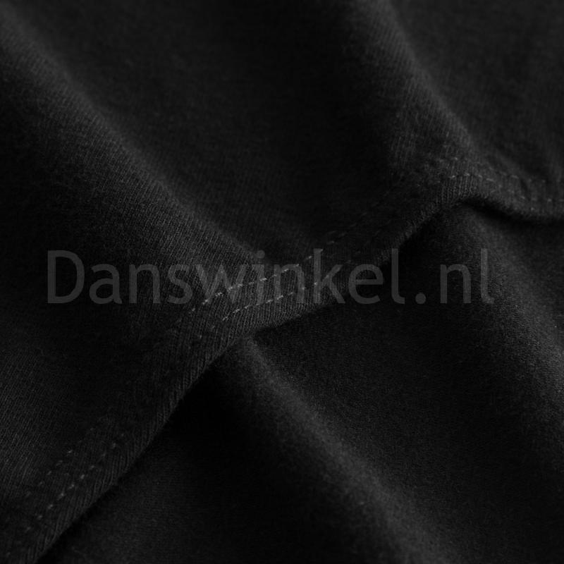 sodanca rde8002 zwart balletpakje van katoen stevige naden