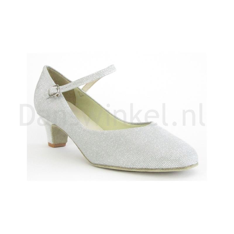 So Danca Dansschoenen BL116G Glitter Silver