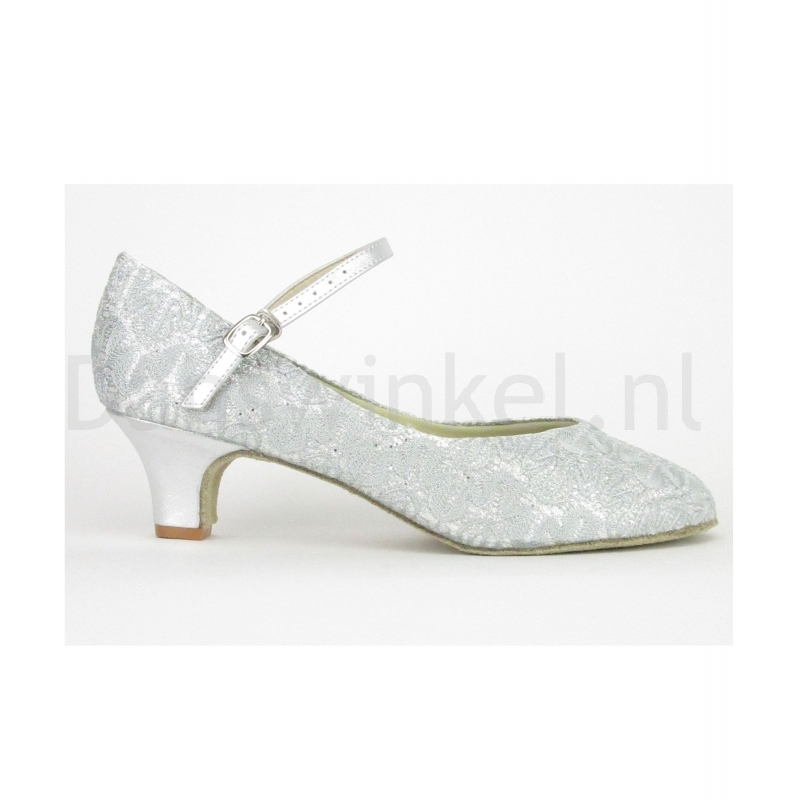 So Danca Dansschoenen BL116S Sparkle Silver
