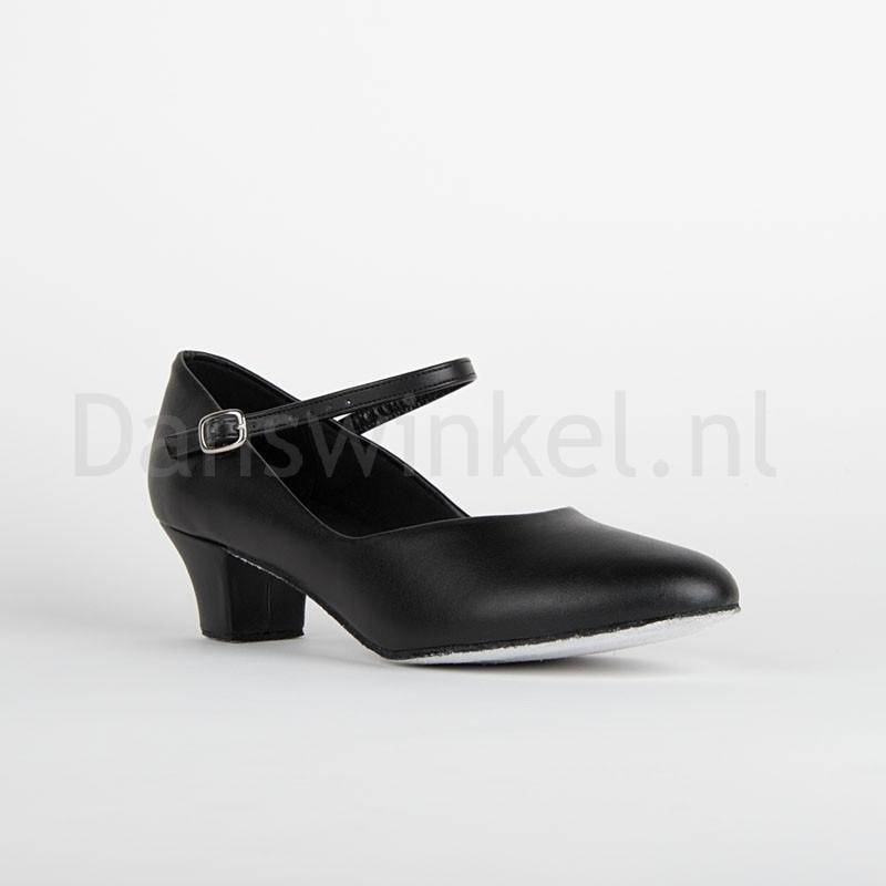So Danca CH791 Dansschoenen Met Suède Zool En 3.5cm Hak stevige dansschoen