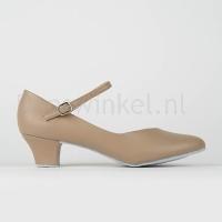 So Danca CH791 Dansschoenen Met Suède Zool En 3.5cm Hak huidskleur