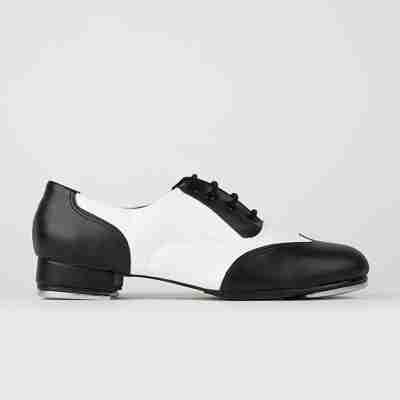 So Danca TA20 Tapdans schoen met tapijzers voor kinderen en volwassenen zwart