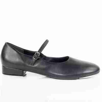 So Danca zwarte Tapschoenen voor vrouwen TA07 lage hak van 25 mm