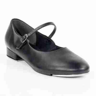 So Danca zwarte tapschoenen dames TA07 met gespsluiting