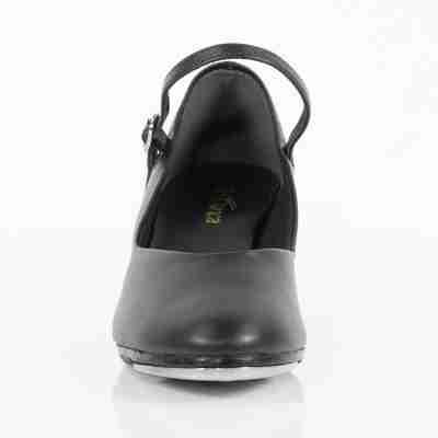 So Danca TA55 Zwarte Tapschoenen voor dames met enkel bandje