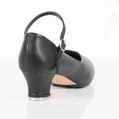 So Danca TA55 Zwarte Tapschoenen voor vrouwen met lage stabiele hak van 35 mm