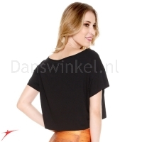 Crop top E11167 Black