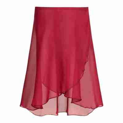 SoDanca SL60 burgundy balletrokje wikkelrok dames