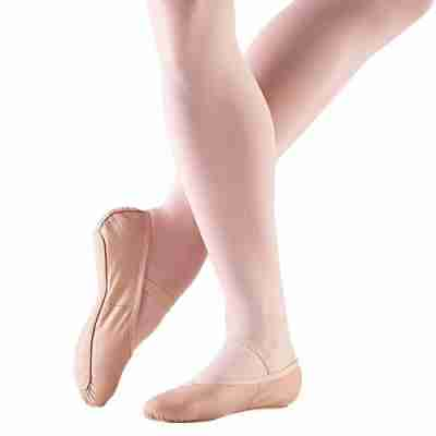 So Danca BAE14L Lederen Balletschoen met Doorlopende zool voor volwassenen