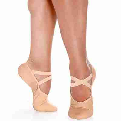 So Danca BAE26 Heren Canvas Balletschoenen met Elastische Splitzool