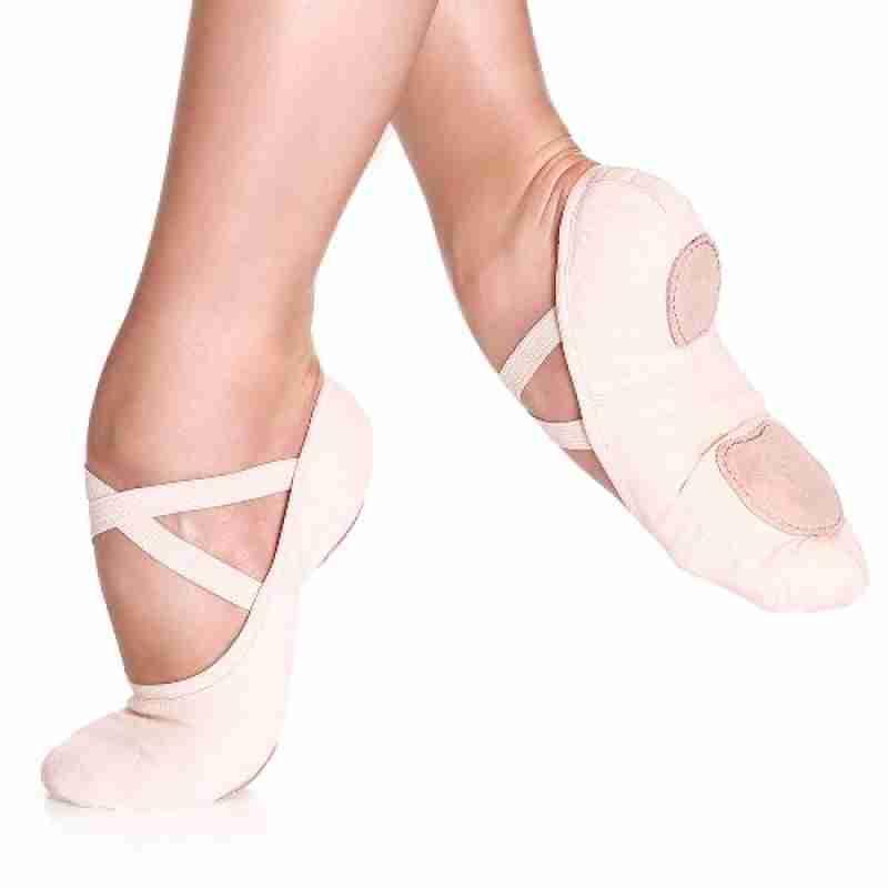 So Danca SD16 Canvas Balletschoenen met splitzool en unisex pasvorm