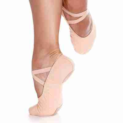 So Danca SD18 Canvas Balletschoenen voor Heren met splitzool