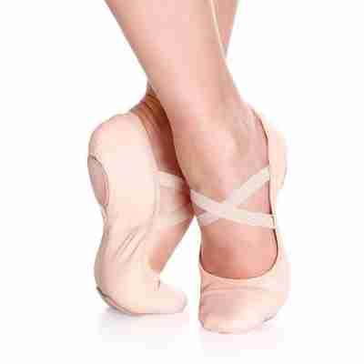 So Danca SD60L Balletschoenen voor volwassenen met Splitzool van Leer