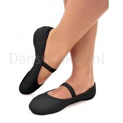 SoDanca SD70L zwarte lederen Balletschoenen SD70L