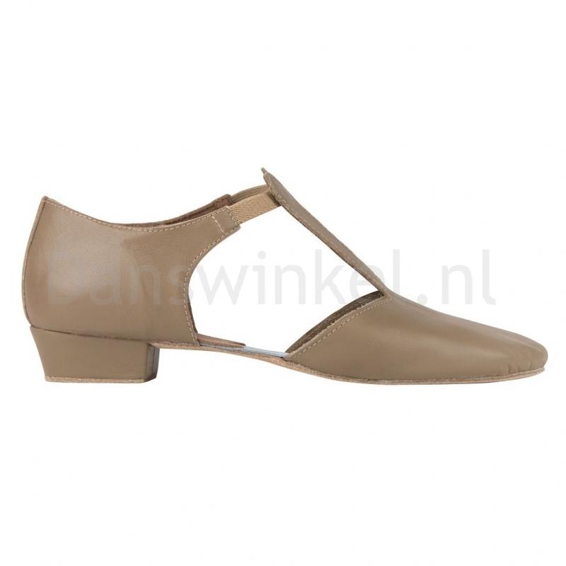SoDanca griekse sandaal tan met suede zool MDE03