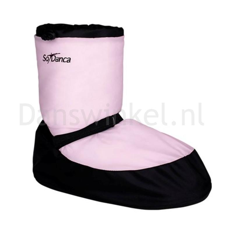 SoDanca Warm-up Boot AC13 Zalm Roze