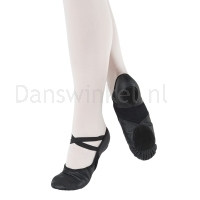 Balletschoenen splitzool So Danca BAE11zwart