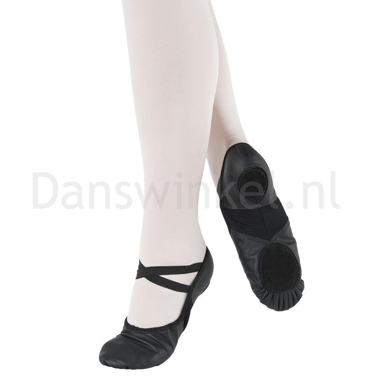 Balletschoenen splitzool So Danca BAE11zwart