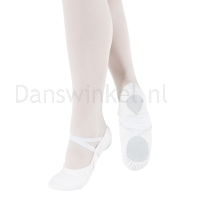 BAE11 So Danca witte Balletschoenen
