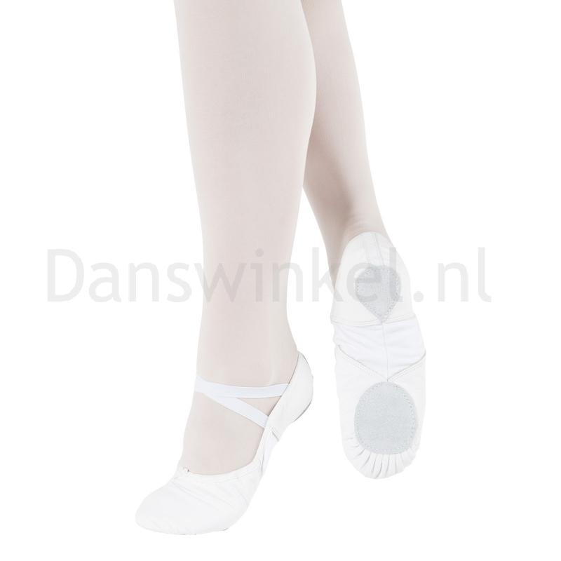 BAE11 So Danca witte Balletschoenen