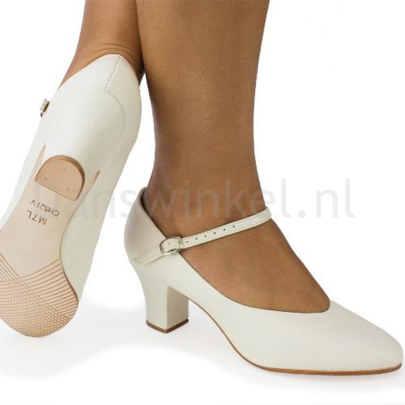 So Danca Dansschoenen Ivory CH52 IV