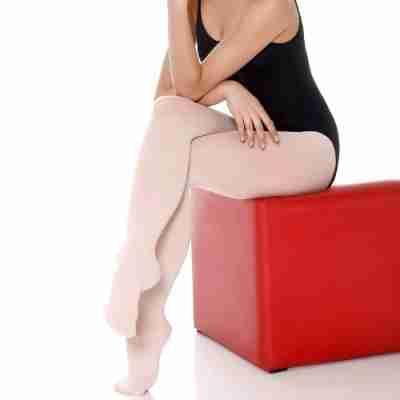 SoDanca Balletpanty met voet TS74