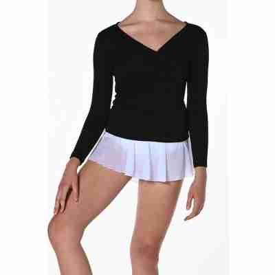 Artiligne Cama Wrap-up Top voor Meisjes zwart