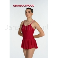 Artiligne Dames balletpak Julia granaatrood