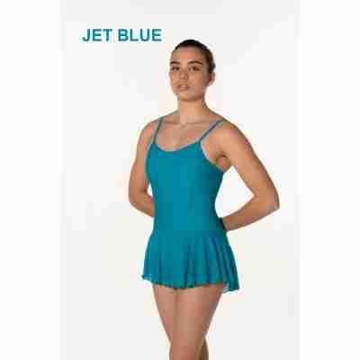 Artiligne Dames balletpak met rokje Julia jet blue