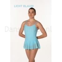 Artiligne Dames balletpak met rokje Julia licht blauw