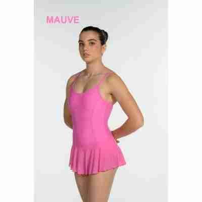 Artiligne Dames balletpak met rokje Julia mauve
