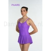 Artiligne Dames balletpak met rokje Julia paars
