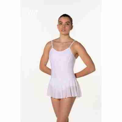 Artiligne Dames balletpak met rokje Julia wit