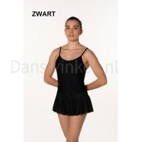Artiligne Dames balletpak met rokje Julia zwart