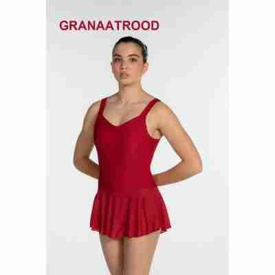 Artiligne Dames balletpak Justine granaatrood