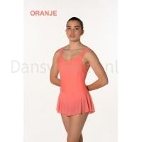 Artiligne Dames balletpak Justine oranje