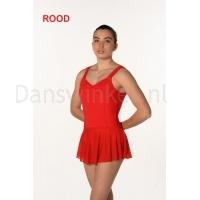 Artiligne Dames balletpak Justine rood