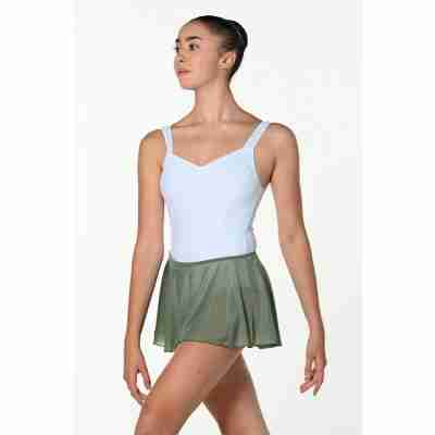 Artiligne Lisette army groen balletrokje