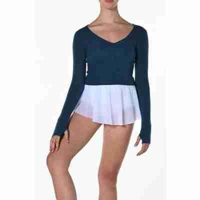 Artiligne Pulma crop top v-hals voor dans en ballet