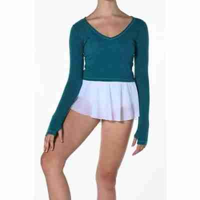Artiligne Pulma korte danstop ballet en yoga teal