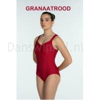 Artiligne Dames balletpak Soline Granaatrood