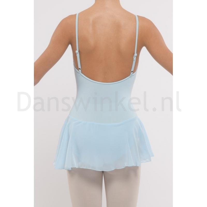 Dansez-Vous dames balletpakje Luna licht blauw achter