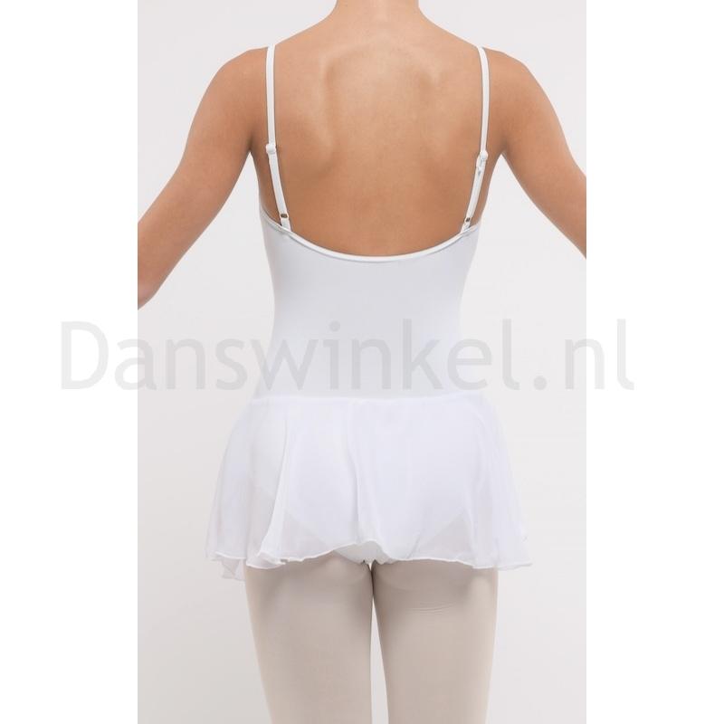 Dansez-Vous dames balletpakje Luna wit rug